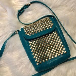 Handbags - Co-Lab Teal Crossbody Purse